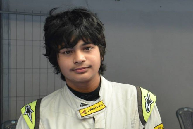 Arjun Miani joins Lanan Racing for the 2014 BRDC Formula 4 Championship