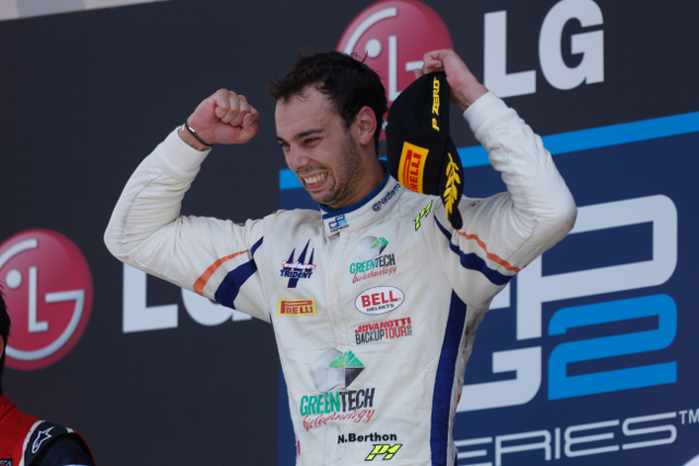 Berthon has a single GP2 victory to his name, that coming last year (Credit: Andrew Ferraro/GP2 Media Service)