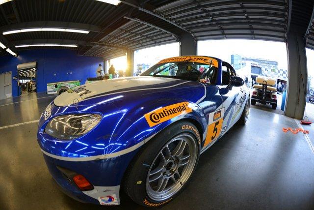 Stevan has a new look MX5 for 2014 (Credit: CJ Wilson Racing)