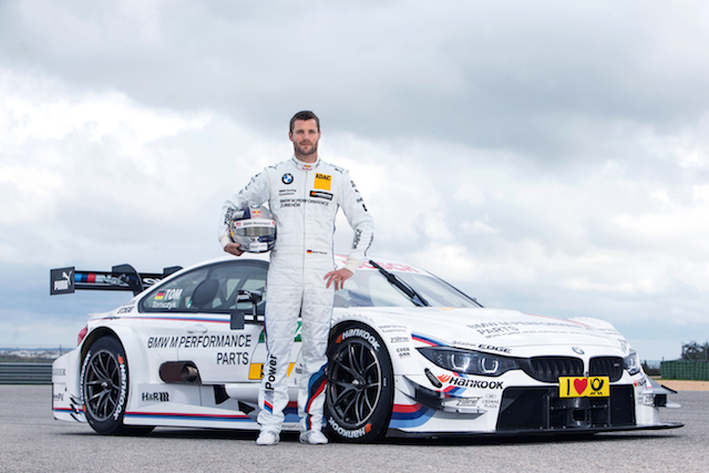Tomcyzk stays in traditional colours for 2014 (Credit: BMW Motorsport)