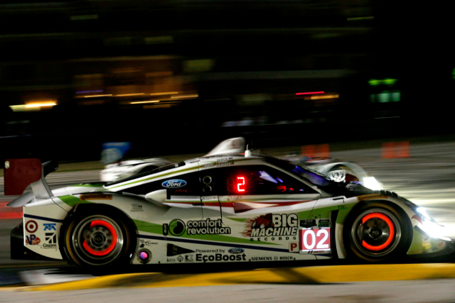 Dixon also paced the day's first session (Courtesy of IMSA)