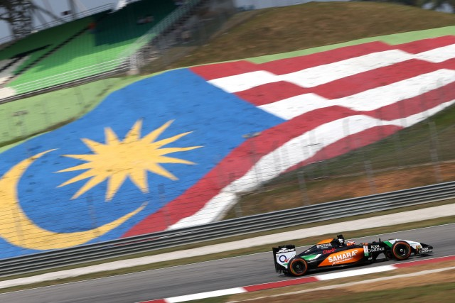 Motor Racing - Formula One World Championship - Malaysian Grand Prix - Practice Day - Sepang, Malaysia