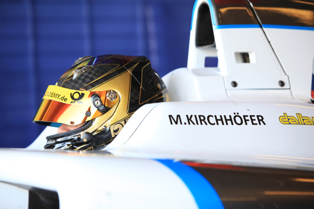 Kirchoefer tested for MW Arden and Russian Time in November (Credit:Sam Bloxham/LAT Photographic)