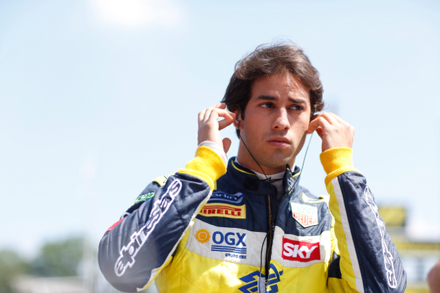 2014 will be Nasr's third in GP2 (Credit: Alastair Staley/GP2 Media Service)