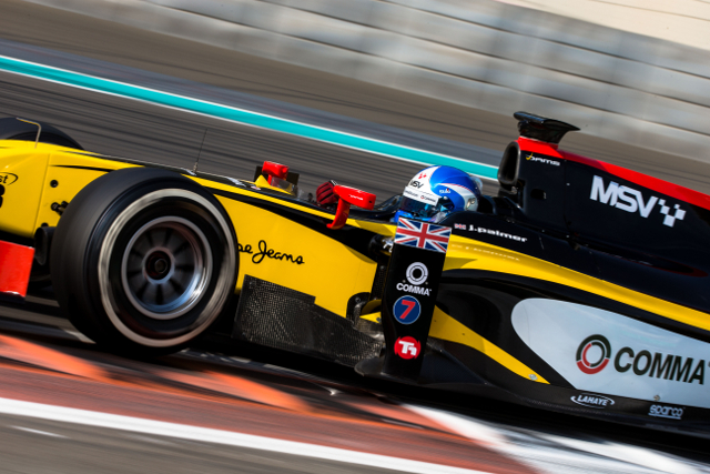 Jolyon Palmer (Credit: Malcolm Griffiths/GP2 Series Media Service)