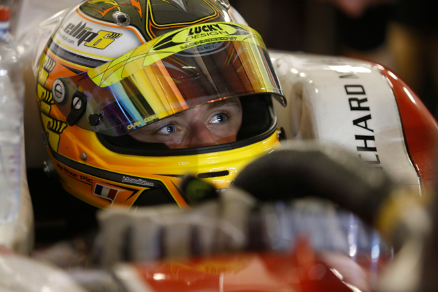 Pic joins GP2 after three seasons in FR3.5 (Credit: Alastair Staley/LAT Photographic)