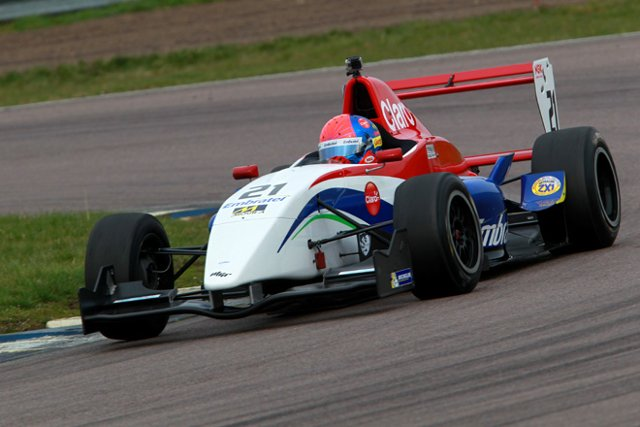 Pietro Fittipaldi was fastest at Rockingham (credit: Jakob Ebrey Photography)