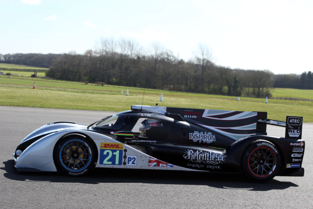 A Northamptonshire airfield played host to the Strakka Racing team (Credit: Jakob Ebrey Photography)