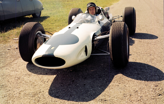 John Surtees, 1964 (Credit: Ferrari)