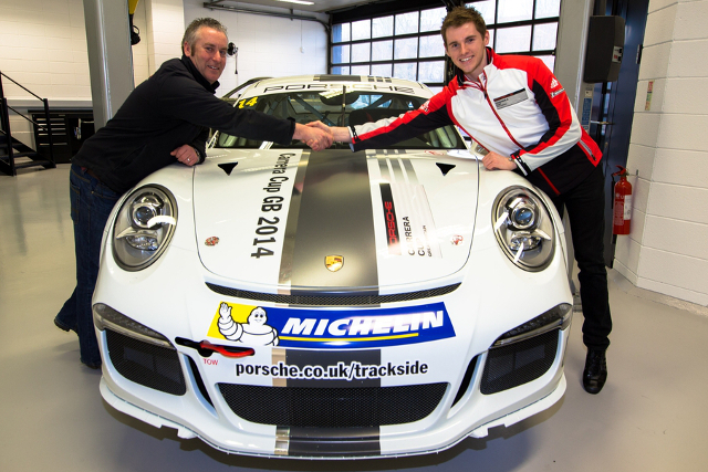 Josh Webster joins Michael Meadows at Redline Racing (Credit: Porsche GB)