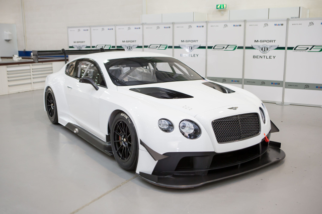 Two of the new-for-2014 Continental GT3 will be on the Oulton Park grid (Credit: British GT media)