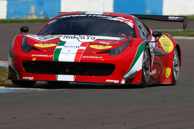 AF Corse have a pair of 458 entered for the full season (Credit: Jakob Ebrey)