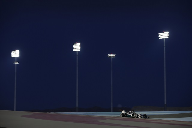 Who will shine under the lights in Bahrain? (Photo Credit: Mercedes AMG Petronas)