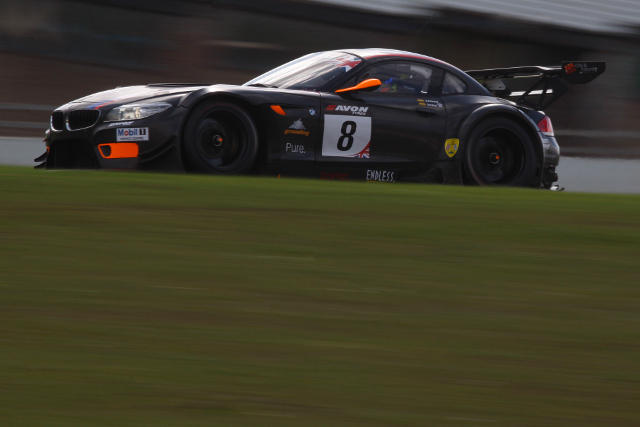 The #8 BMW Z4 GT3 features an unchanged driver pairing (Credit: Jakob Ebrey)