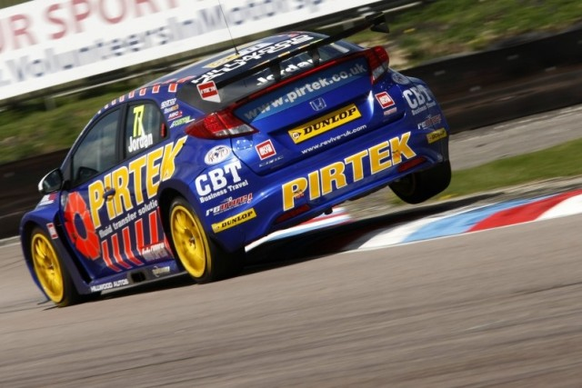 Reigning champion Jordan is a particular fan of Thruxton (Photo: btcc.net)
