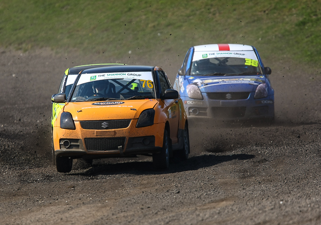British Rallycross Championship 2014 Round 1 day 1 29th March