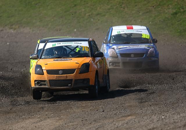 British Rallycross Championship 2014 Round 1 day 1 29th March