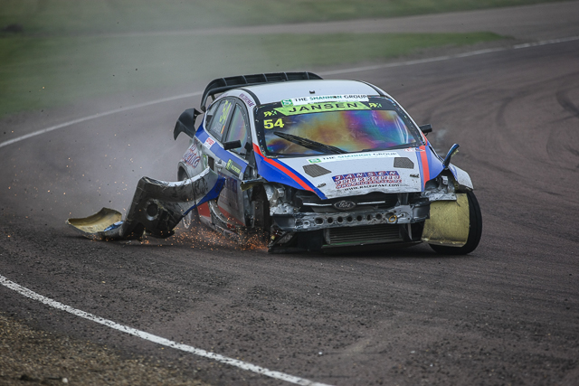 British Rallycross Championship 2014 Round 1 day 2 30th March