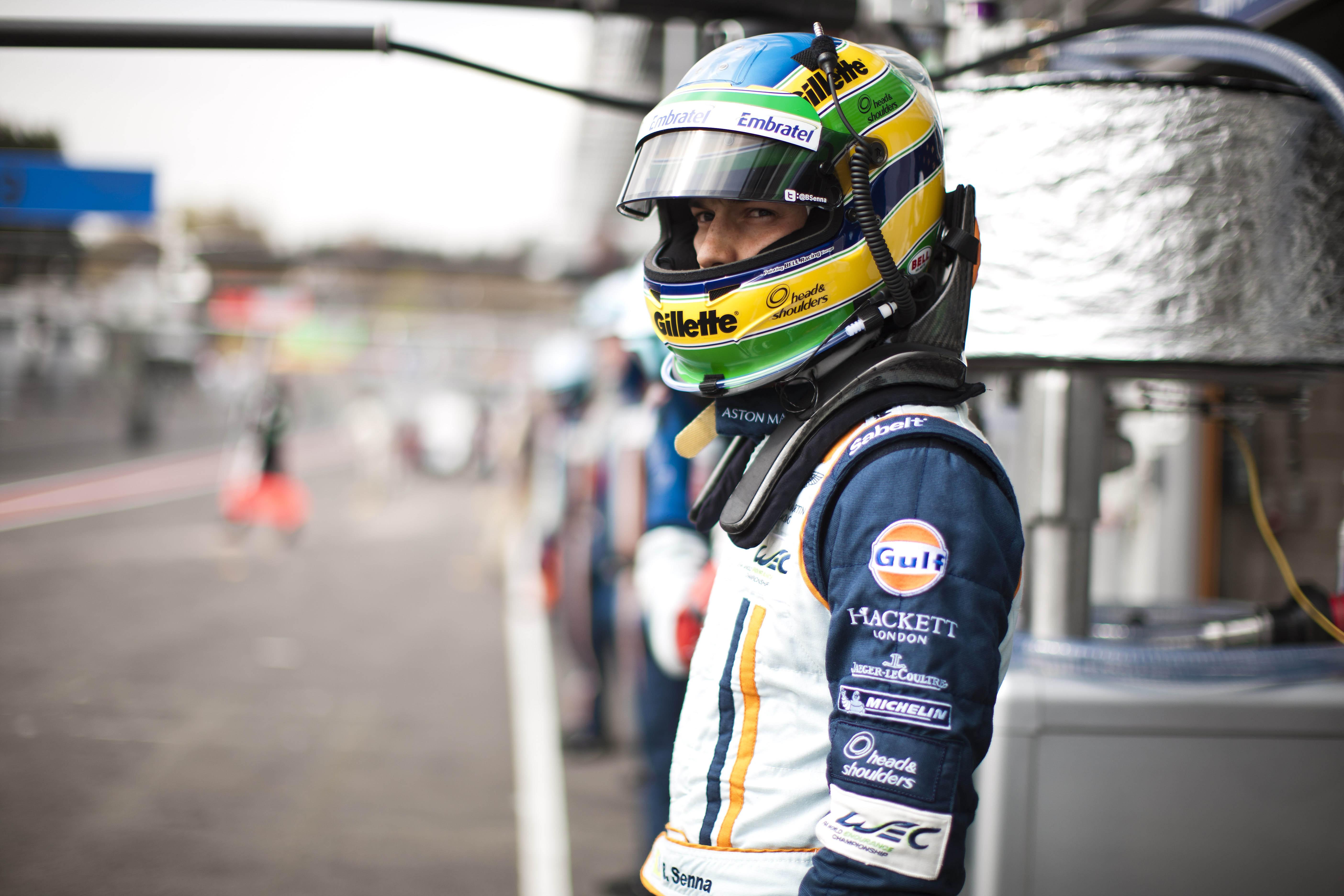Bruno Senna at Spa 2013