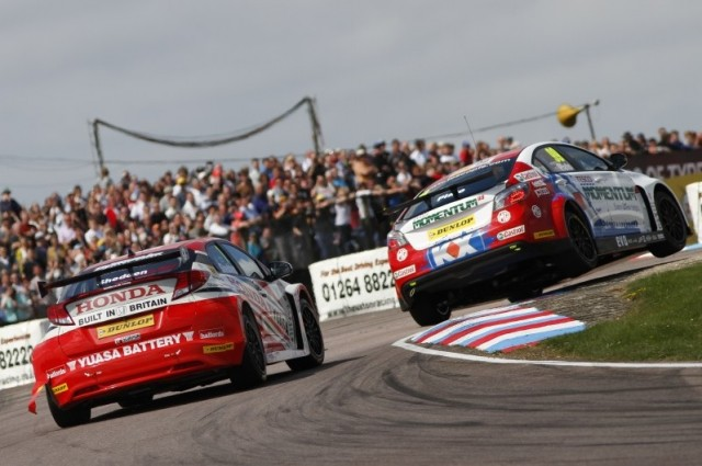 MG hope to end Honda's dominance at the Hampshire track (Photo: btcc.net)