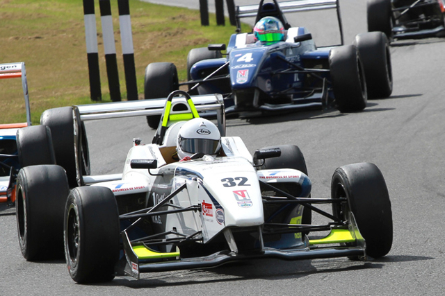The newly merged KBS Motionsport can claim four race wins from 2013 (Credit: BRDC Formula 4)