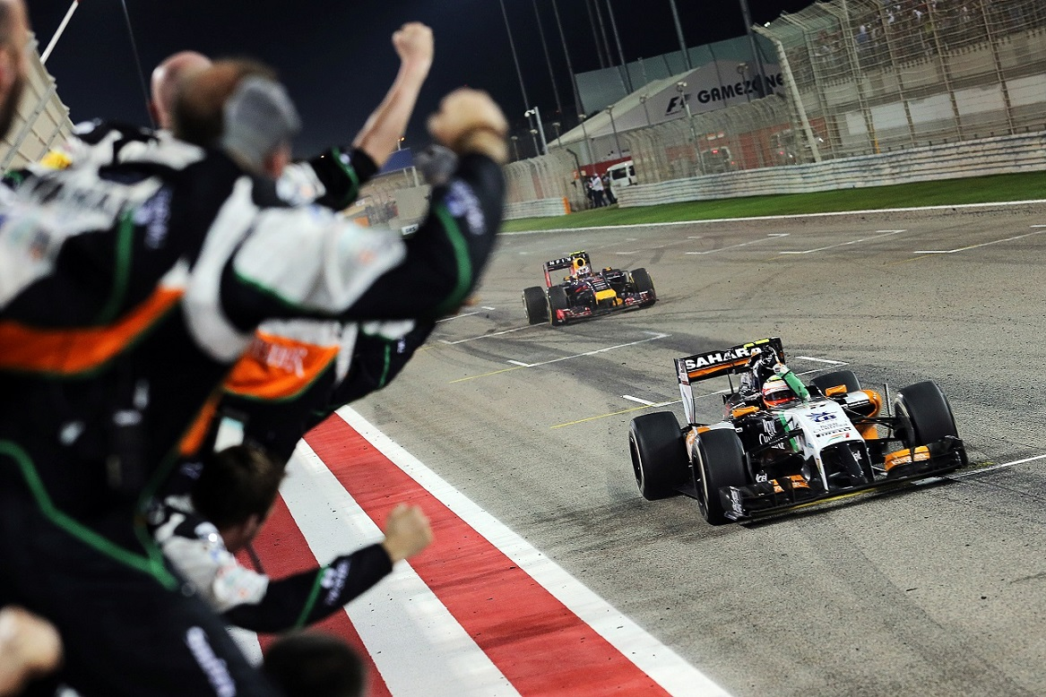 Motor Racing - Formula One World Championship - Bahrain Grand Prix - Race Day - Sakhir, Bahrain