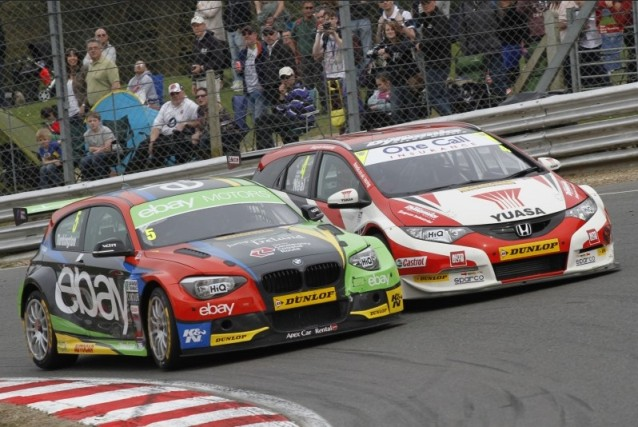 ...but Turkington and Neal are in hot pursuit (Photo: btcc.net)