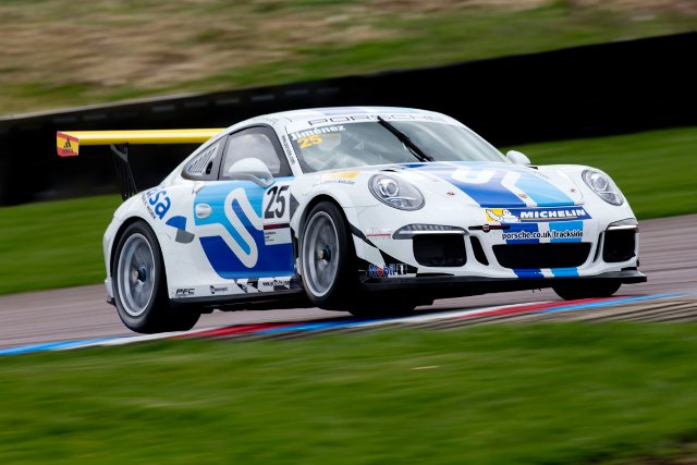 Jimenez led the Carrera Cup field (Credit: www.jakobebrey.com)