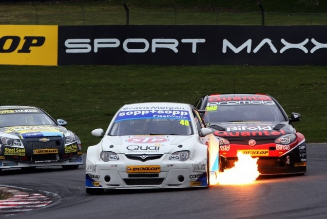 Only one Proton appeared for Welch Motorsport at Brands (Photo: btcc.net)