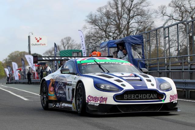 The #1 Aston Martin began the season on top (Credit: Jakob Ebrey Photography)