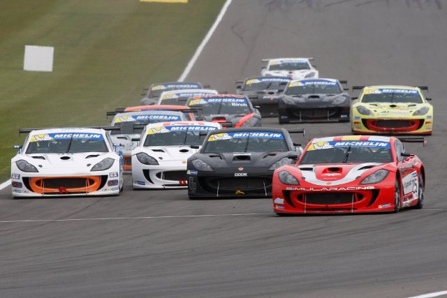 The Ginetta GT4 Supercup arrives at Donington Park for its second weekend of the season (Credit: Jakob Ebrey Photography)