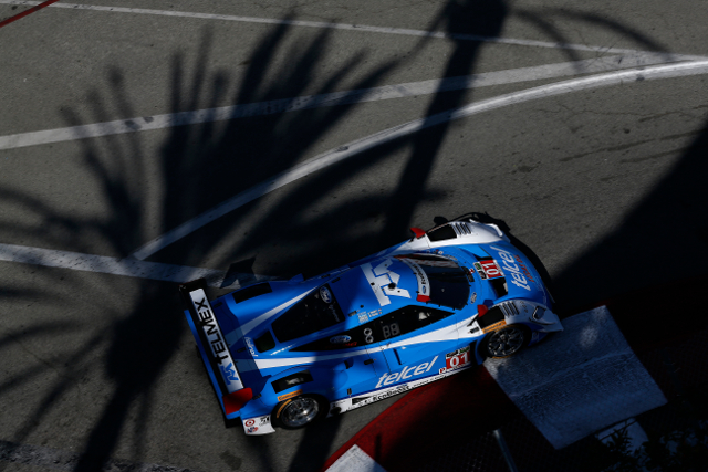 Pruett was fastest under the California sun (Courtesy of IMSA)