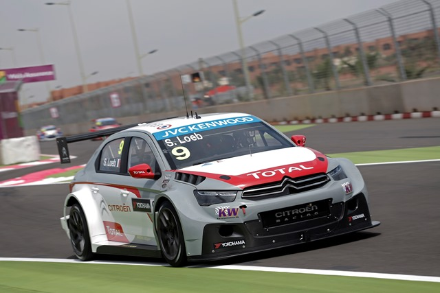 Sebastien Loeb - Photo Credit: FIA WTCC