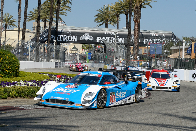 Memo Rojas and Scott Pruett were led for only a few minutes (Courtesy of IMSA)