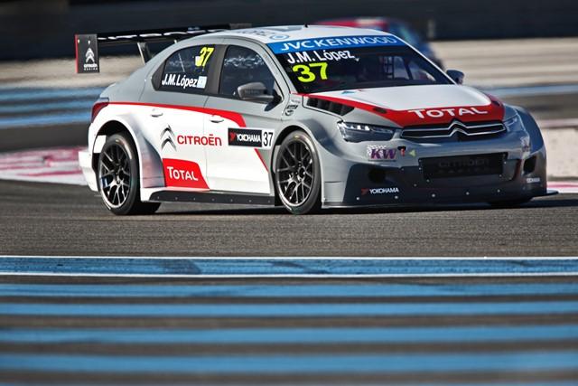Jose Maria Lopez - Photo Credit: Citroen Racing