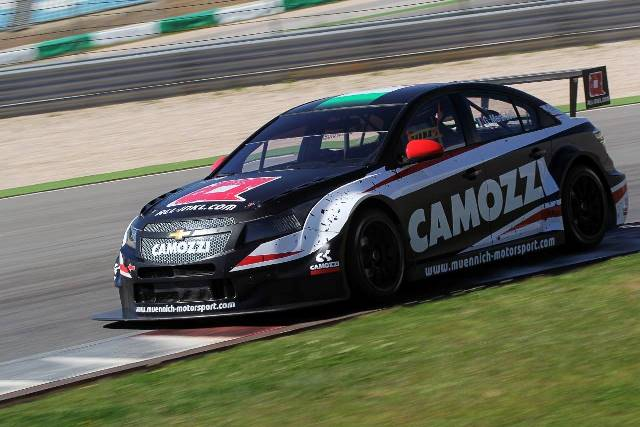 Gianni Morbidelli - Photo Credit: Munnich Motorsport