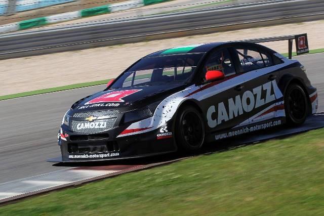 Gianni Morbidelli - Photo Credit: Munnich Motorsport