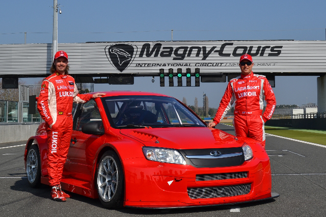 James Thompson and Rob Huff - Photo Credit: Lada Sport Lukoil