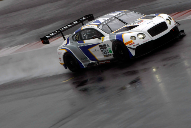 Wet weather complicated the team's preparations for their series debut (Credit: Generation Bentley Racing)