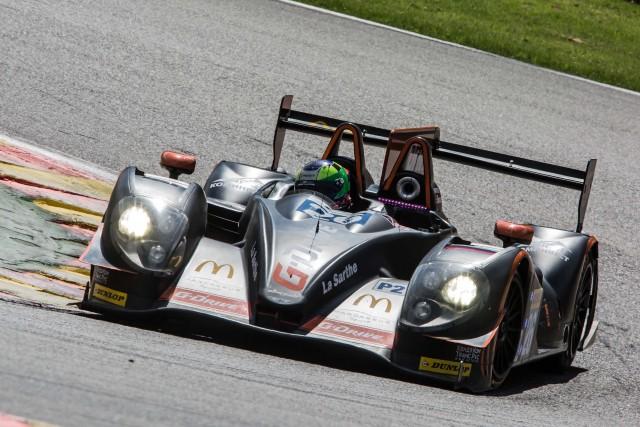 Roman Rusinov (RUS) / Olivier Pla (FRA) / Julien Canal (FRA) driving the #26 LMP2 G-Drive Racing (RUS) Morgan-Nissan