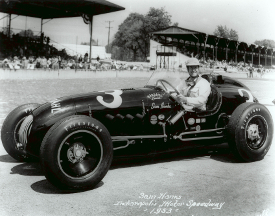 Sam Hanks, 1953 Indy 500 (Credit: Indycar Media)