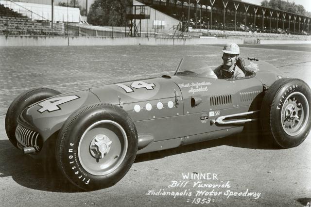 Bull Vukovich, 1953 (Credit: Indycar Media)