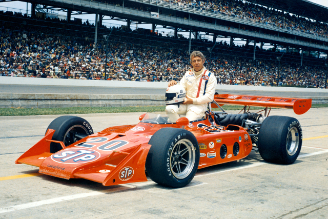 Gordon Johncock, 1973 (Credit: Indycar Media)