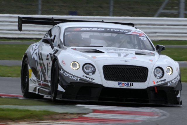 Blancpain winner Kane kept Bentley on top at Silverstone (Credit: Jakob Ebrey)