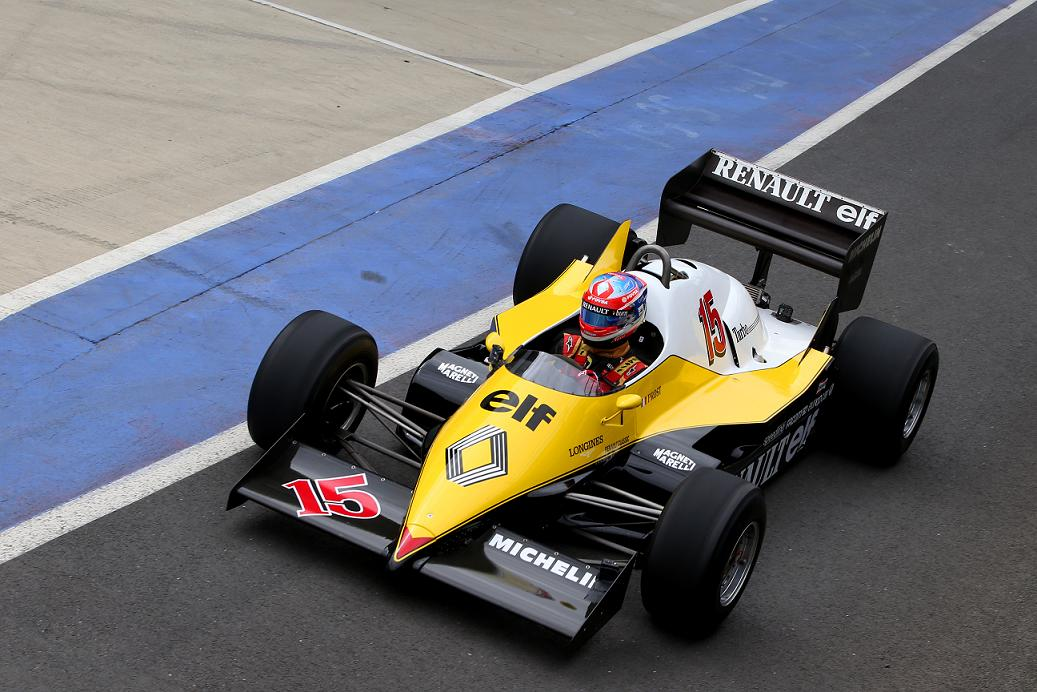 Historique Monaco Event Sees Prost And His 83 Renault