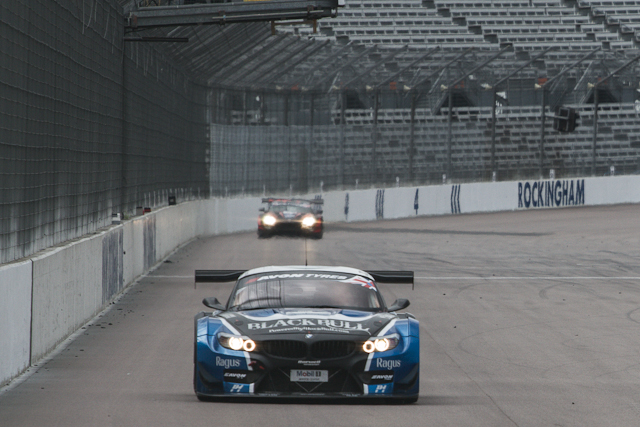 The Ecurie Ecosse pair dominated the new format session (Credit: Will Belcher Photography)