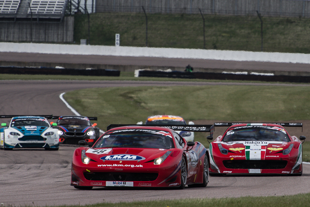 Eastwood praised the teamwork at FF Corse after celebrating victory (Credit: Will Belcher Photography)