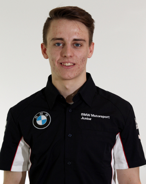 Hughes In His New BMW Apparel - Credit: BMW