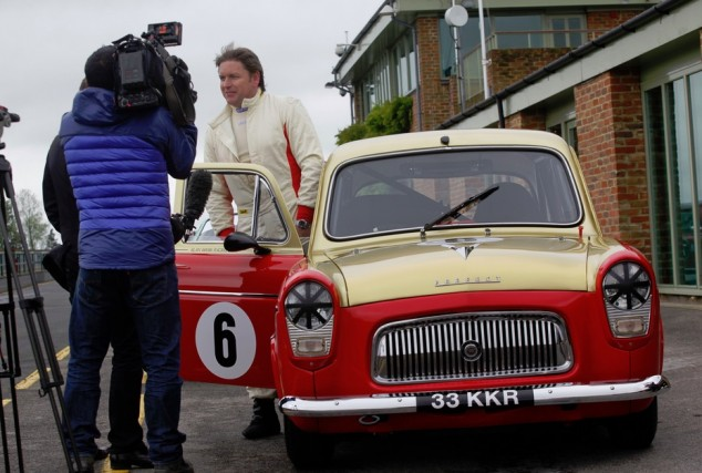 James Martin was among several TV stars visiting the north east venue