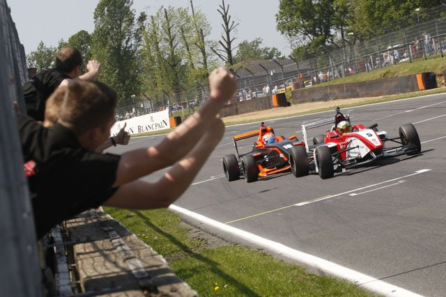 Lima's race two victory was the narrowest seen in F4 so far